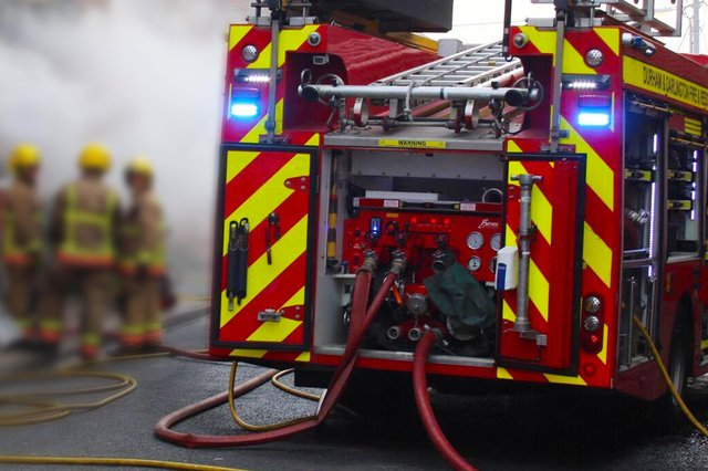 Crews attended 21 secondary deliberate fires in 30 days in the same area of Peterlee.
