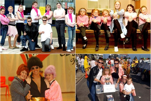 It's a Grease fest but are you pictured?