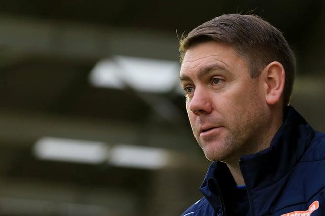 Hartlepool United manager Dave Challinor. (Credit: Leila Coker   MI News)