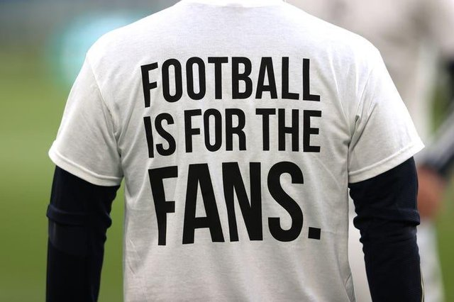 Football fans' petition
