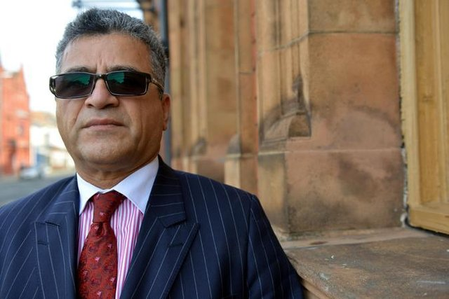 Darab Rezai, chairman of Hartlepool Licencees Association which represents the town's hospitality businesses.