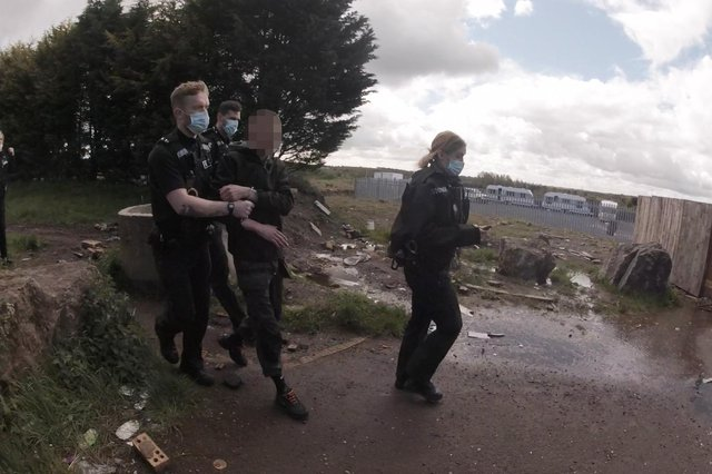 Four people were arrested in an anti-social behaviour crackdown./Photo: Peterlee Police
