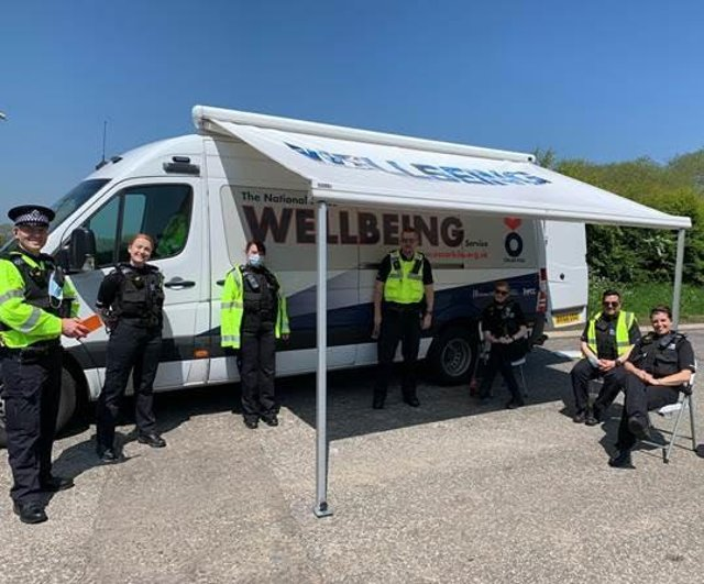 The team focused on keeping Hartlepool's road network safe./Photo: Cleveland Police