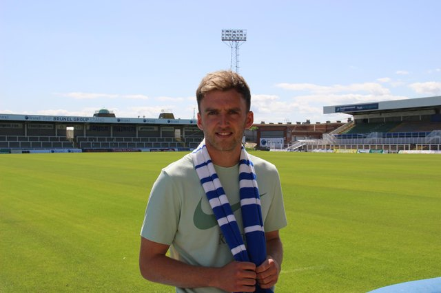Martin Smith has signed for Hartlepool United. Picture by HUFC.