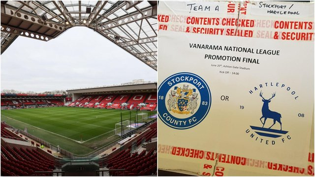 National League play-off final tickets.