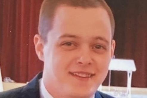 A photo of Michael Broadey shared by Durham Constabulary.