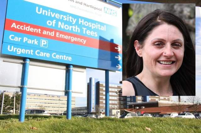 Heidi Morrison from Hartlepool (inset) is helping to introduce hospital patients to gentle exercise after fighting back from serious health problems herself.