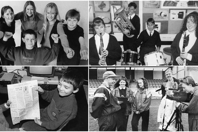 We hope these 1990 school scenes bring back lots of happy memories.
