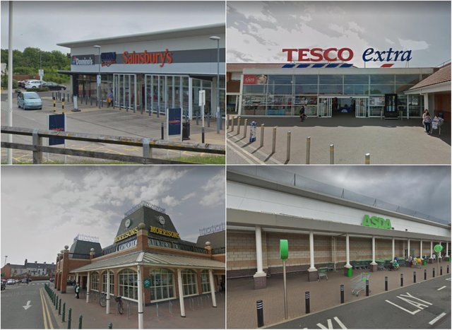 Christmas 2020 supermarket opening times for Sainsbury's, Tesco, ASDA, Morrisons, ALDI, Lidl and the Co-op. Picture: Google Maps