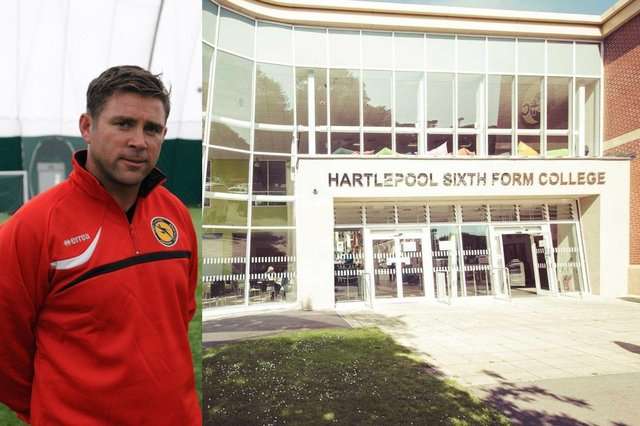 Former Middlesbrough goalkeeper Andy Collett will help deliver a new football academy at Hartlepool Sixth Form College.