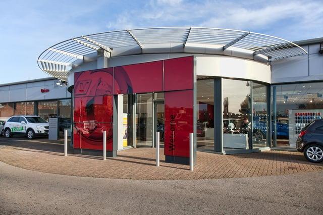 Drive Vauxhall's Hartlepool showroom.