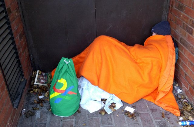 There are concerns former rough sleepers will not be safe.