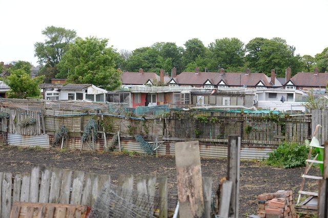 Burn Valley allotments site.