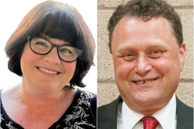 From left, Labour councillors Lesley Hamilton and Stephen Thomas have announced that they will not be seeking re-election at this May's Hartlepool Borough Council elections.