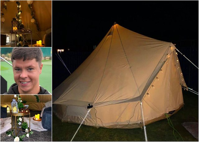 The Hartlepool business offering 19ft-wide teepees with a cinema screen