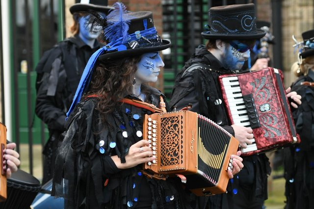 Boggart's Breakfast made a welcome return to Hartlepool Folk Festival at the National Museum of the Royal Navy last year