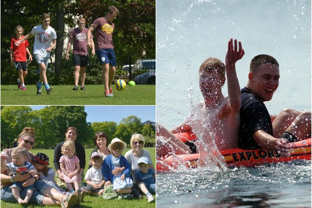 You certainly know how to enjoy the great weather as these archive Hartlepool Mail photos show. Are you pictured?