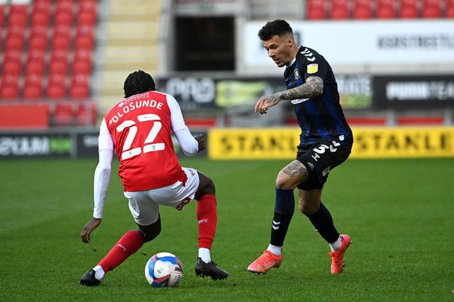 Middlesbrough winger Marvin Johnson.