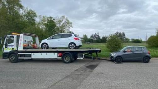 Five vehicles were seized in Hartlepool following the weekend operation.