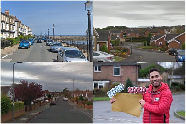 Just some of the Hartlepool streets where People's Postcode Lottery players have enjoyed wins during 2020.