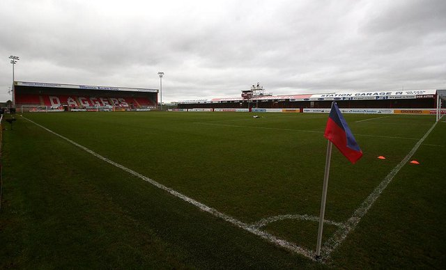The Chigwell Construction Stadium, Victoria Road, Dagenham (Photo by Charlie Crowhurst/Getty Images)