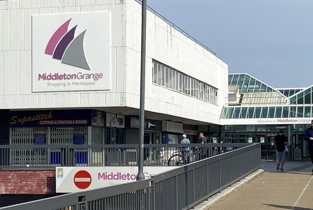 """Hartlepool's Middleton Grange Shopping Centre could be """"re-imagined"""" thanks to £25m of Government money."""