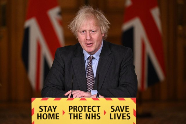 Prime Minister Boris Johnson has suggested that pubs could be allowed to request proof of vaccination before allowing people to enter. Photo: Getty Images.