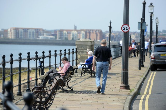 Temperatures are set to rise this bank holiday weekend.