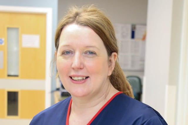 Lindsey Robertson, trust chief nurse