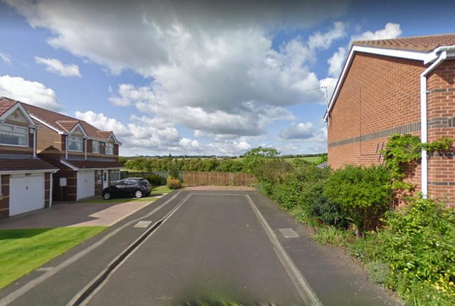 Access to the homes would be off Applewood Close, Hartlepool. Pic via Google Maps.