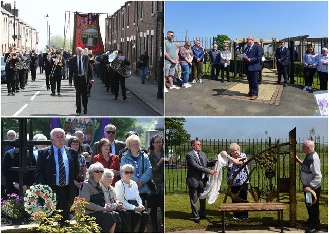 'Hundreds' gather to commemorate 70th anniversary of the Easington Colliery disaster