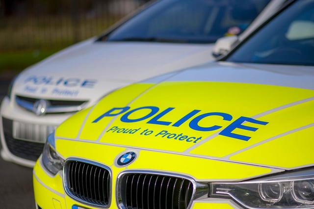 Police have arrested a man on suspicion of burglary.