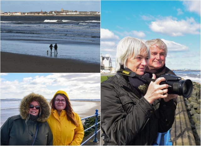 Scenes from Hartlepool on Easter Monday (April 5).
