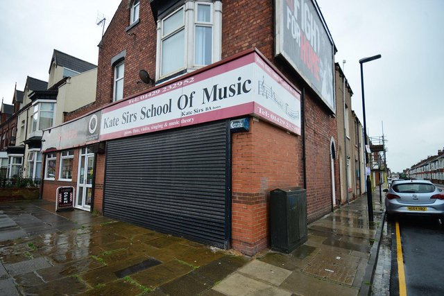 Kate Sirs School of Music, in Stockton Road, Hartlepool. Picture by FRANK REID
