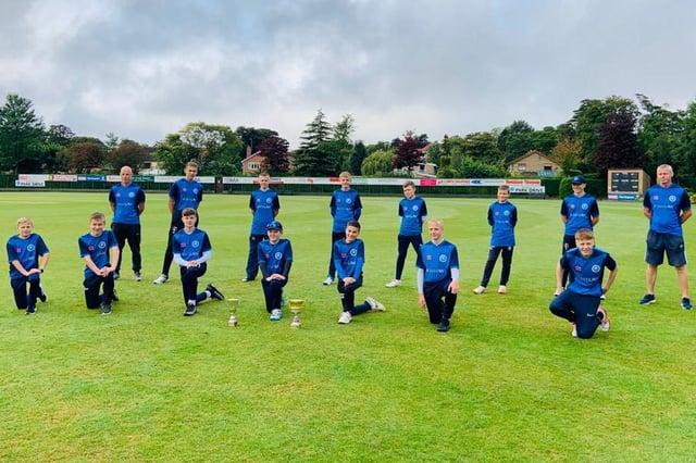 Hartlepool Cricket Club Under 13's team.