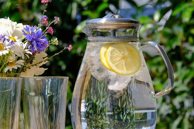 Stay hydrated, before, during and after exercising. Aim for at least twolitres of water a day and up to threelitres on the days that you're training.