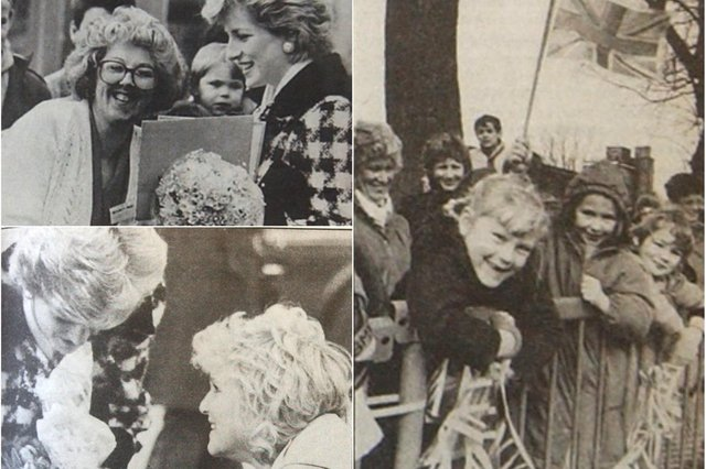 Memories of a royal visit to Hartlepool in 1987. Were you there?