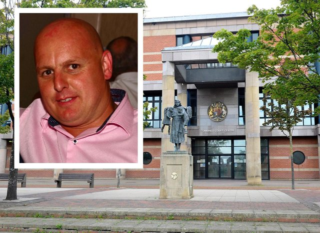 The trial into the murder of John Littlewood in Blackhall in summer 2019 is taking place at Teesside Crown Court.