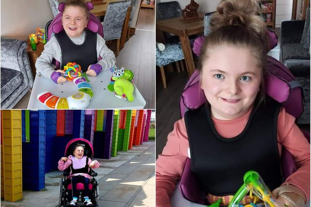 Talia Foster who has defied the odds and will soon become a teenager.