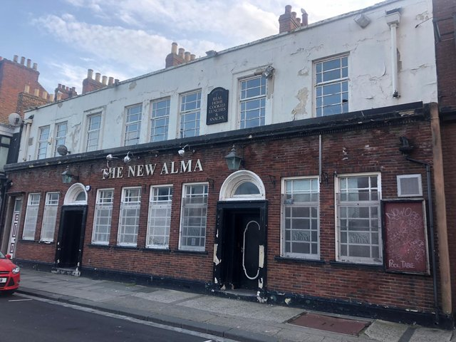 The former New Alma Hotel is to be transformed into a hotel with bar and restaurant.
