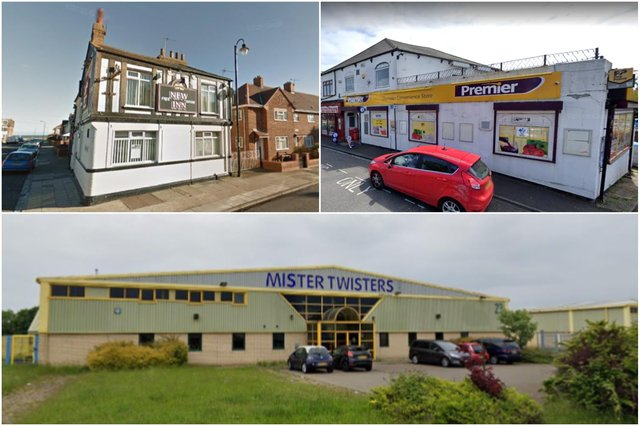 Up for sale: The New Inn on the Headland, Premier store in Andrew Street and former Mister Twisters.