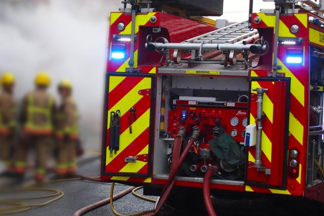 Two appliances from Hartlepool Community Fire Station attended the incident.