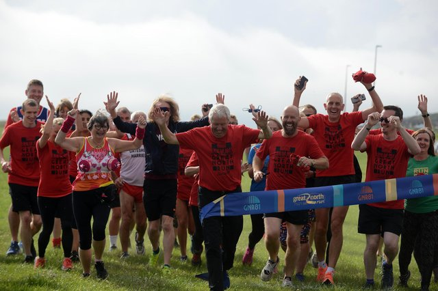 Great North Run GNR81 virtual challenge to celebrate the event's birthday weekend with founder Sir Brendon Foster.