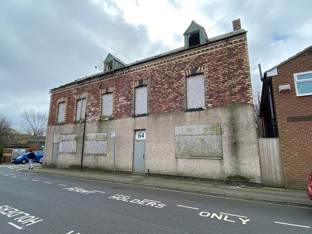 Plans have been unveiled to transform these Hartlepool flats into a new DIY bathroom and tile shop.