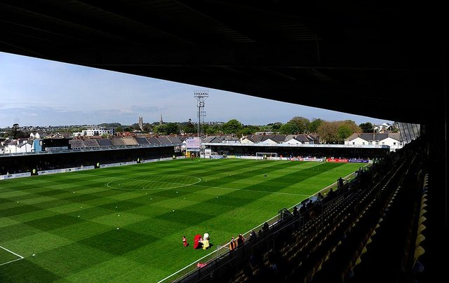 Torquay United's ground  (Photo by Dan Mullan/Getty Images)