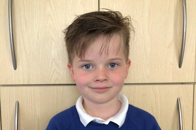 Year 3 pupil Charlie Hind sent two kindness cookies to his cousin in Australia.