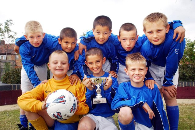 The Year 4 football team at West View Primary School was pictured in 2006. Is there someone you know in the photo?