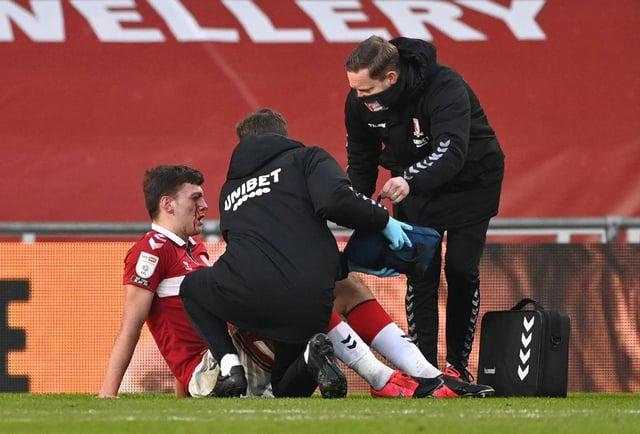 Dael Fry injury.