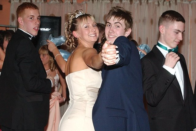 Are you pictured at the 2005 prom?