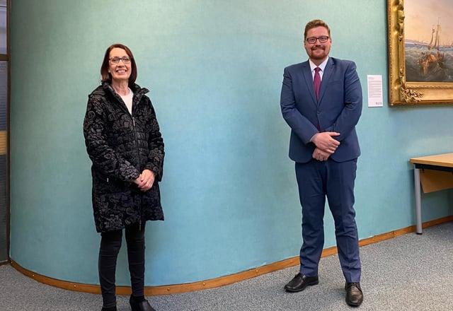 Hartlepool Labour councillors Brenda Harrison and Jonathan Brash.